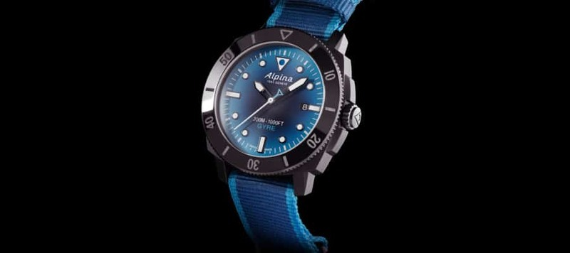 Alpina Introduces an Environmentally Friendly Diver Made From Recycled Plastic