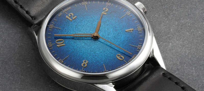 Anordain Brings their Stunning Fume Dials to the Model 1 in Four Variants