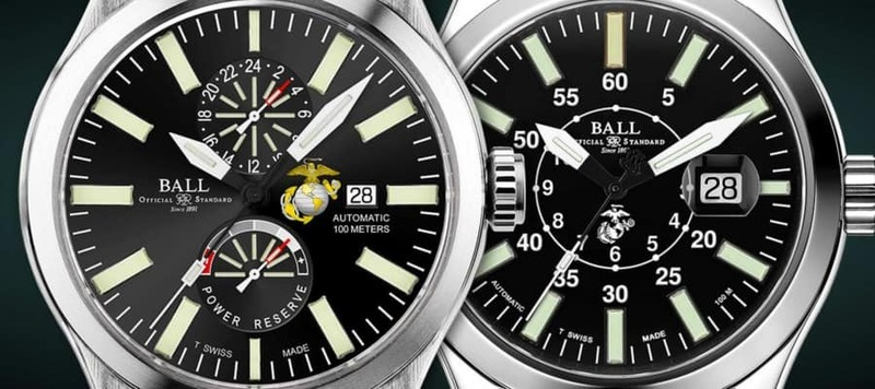 Ball Introduces New Watches in their Engineer II Line Paying Tribute to the U.S. Marine Corps