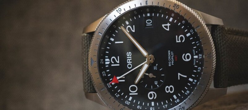 Baselworld 2019: First Look at the Oris Big Crown ProPilot Timer GMT