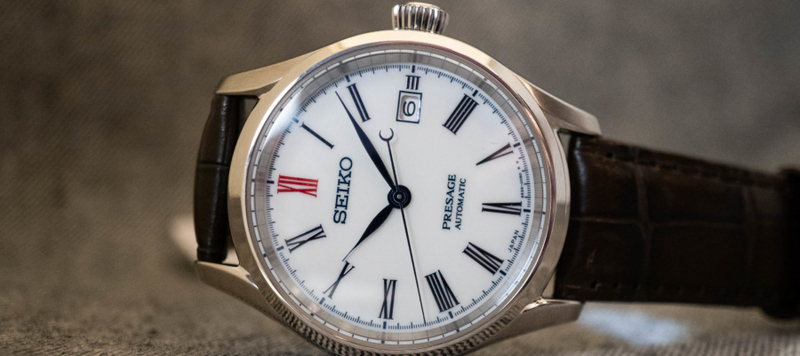 Baselworld 2019: First Look at the Seiko Presage Arita Porcelain Dial Collection Refs. SPB093 and SPB095