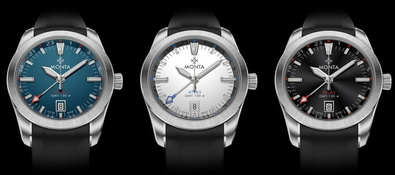 Baselworld 2019: Introducing the Monta Atlas GMT