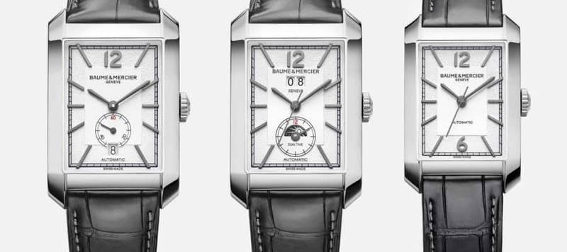 Baume & Mercier Goes Art Deco with New Watches in the Hampton Collection
