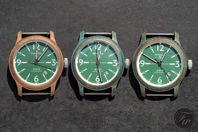 Bronze Watch Patina Project – Speed Up The Ageing