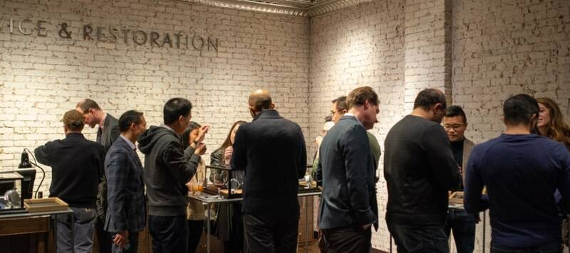 Celebrate the Fifth Annual NYC Windup Watch Fair with Watches of Switzerland