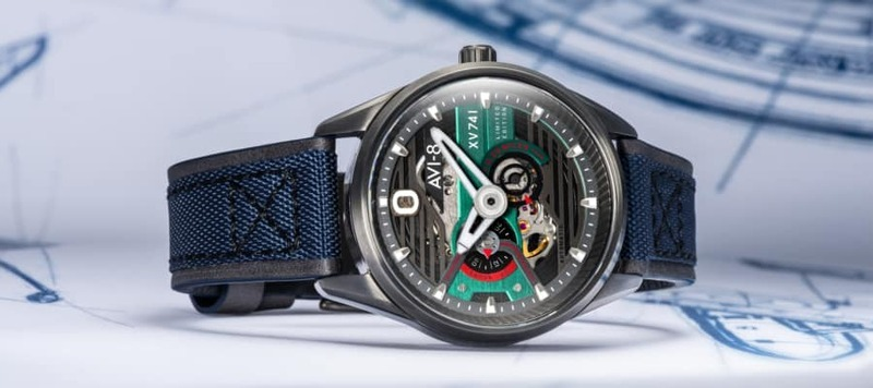 Discovering the AVI-8 Hawker Harrier XV741 & Spitfire Type 300 Automatic Edition