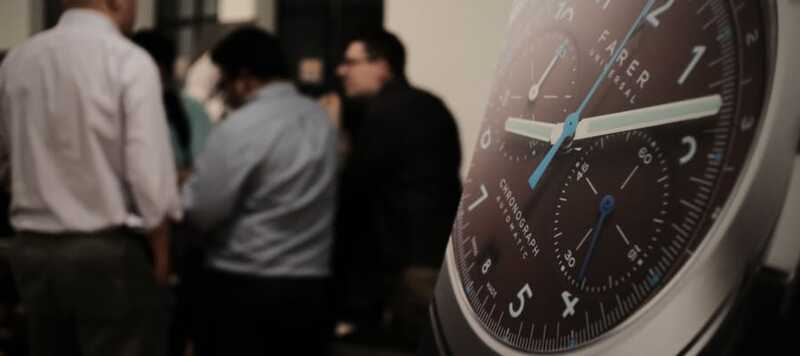 Event Recap: The Global Unveiling of Farer's Mechanical Chronograph Collection in NYC