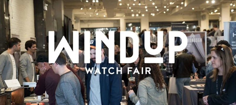Event Reminder: The 2018 NYC Windup Watch Fair Kicks Off This Friday!