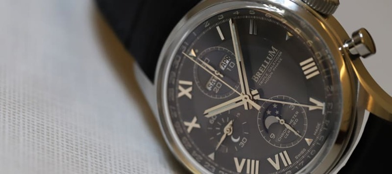 First Look: Brellum Duobox Classic LE.3, a COSC-Certified Chronograph with a Triple Calendar and Moonphase