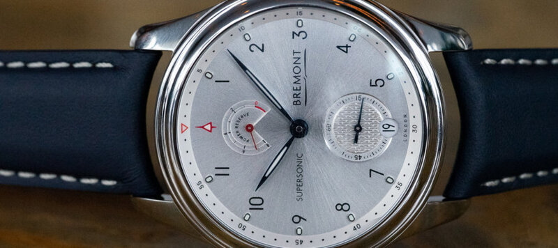 First Look: Bremont's Supersonic 8-Day Chronometer Celebrates the Concorde Jet's 50th Anniversary