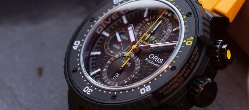 First Look: Oris ProDiver Dive Control Limited Edition