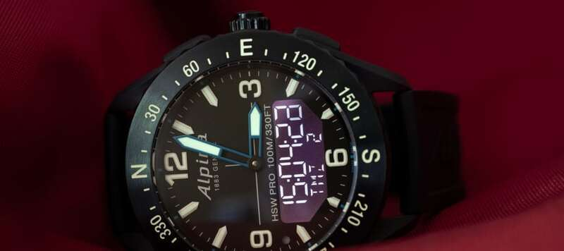 First Look: The Alpina AlpinerX Outdoors Smartwatch