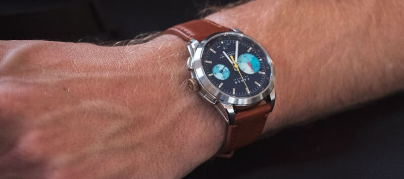 First Look: The Mechanical Chronograph Collection (Cobb, Eldridge, Segrave) from Farer
