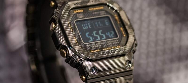 First Look at Two Limited Edition G-shocks in a Unique Laser Printed Camo Colorway