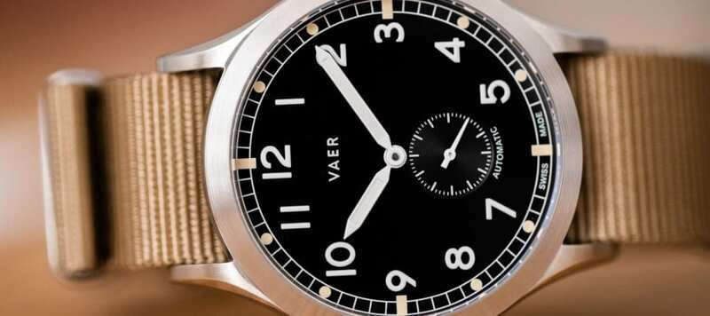 """First Look at the Vaer Automatic and """"Dirty Dozen"""" Collection"""
