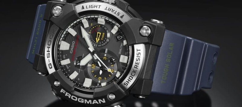 G-Shock Announces the First Frogman with a Full Analog Display