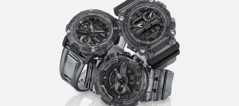 G-Shock Goes Transparent with Six New Models
