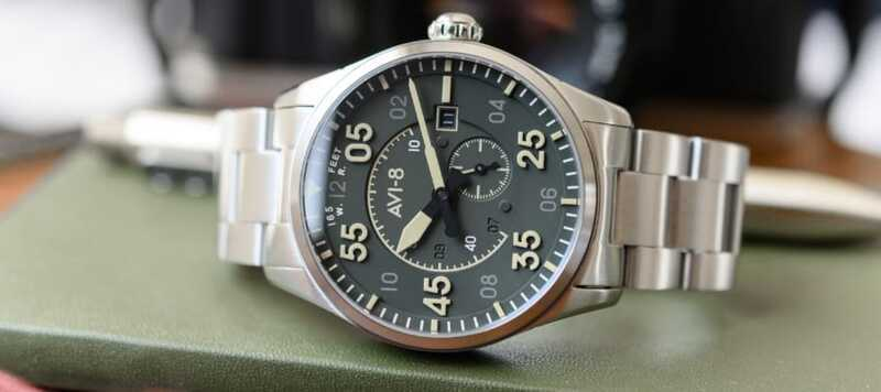 Hands-On: AVI-8 Spitfire Type 300 Automatic