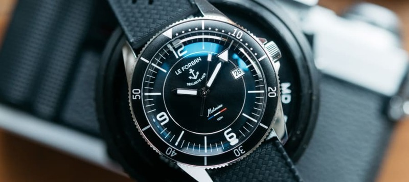 Hands-On: The Le Forban Malouine Dive Watch
