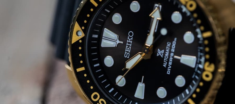 """Hands-On (Video) With the Seiko Prospex ref. SRPC44 """"Golden Turtle"""""""