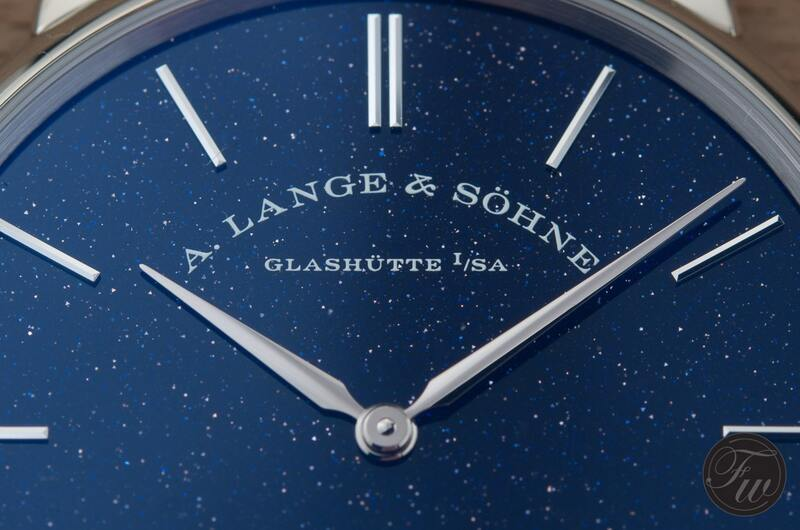 Hands-On With The A. Lange & Söhne Saxonia Thin in copper blue