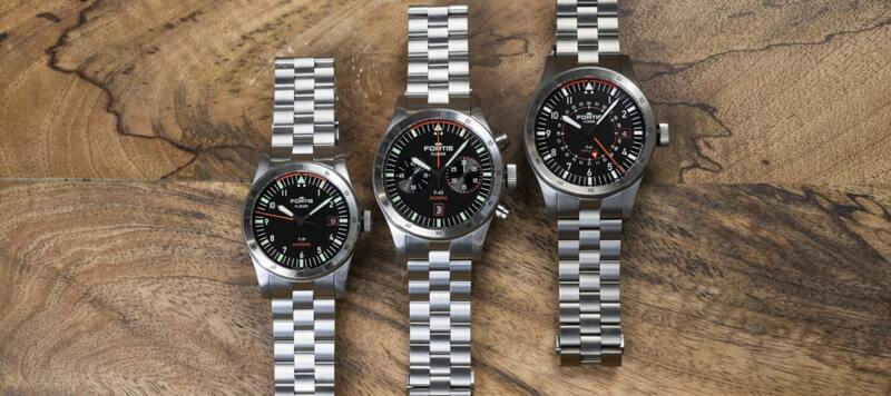 Hands-On With The Fortis Flieger Collection