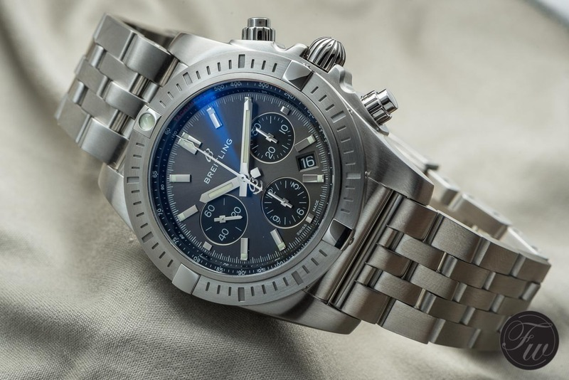 Hands-on With The Breitling Chronomat B01 Chronograph 44