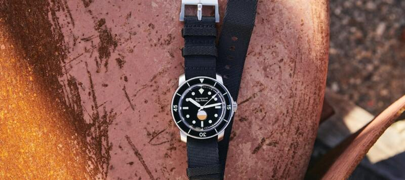 Hodinkee's Latest Collaboration with Blancpain Is a Stripped Down Version of the Fifty Fathoms MIL-SPEC