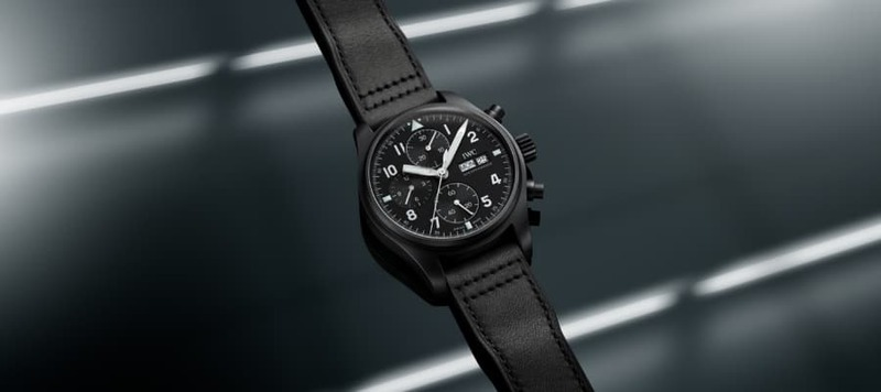 IWC Pays Tribute to the 3705, a Classic Ceramic Chronograph