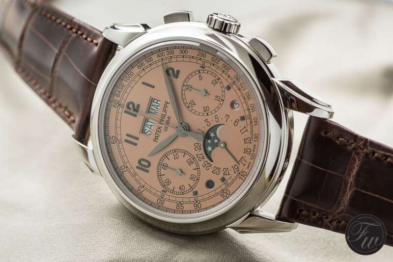 In Detail – Patek Philippe 5270P – A Platinum Perpetual Chronograph With Salmon Dial
