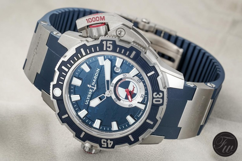 InDetail: The Ulysse Nardin Diver Deep Dive 1000M – Limited To 300 Pieces
