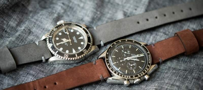 Introducing Stone and Russet Model 2 Premium Straps at shop.wornandwound.com