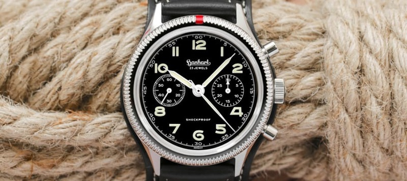 Introducing The Hanhart 417 ES, A Handwound Chronograph With '50s Style