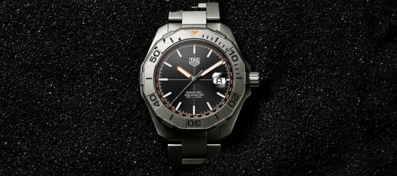 Introducing The TAG Heuer Aquaracer Bamford Limited Edition In Titanium