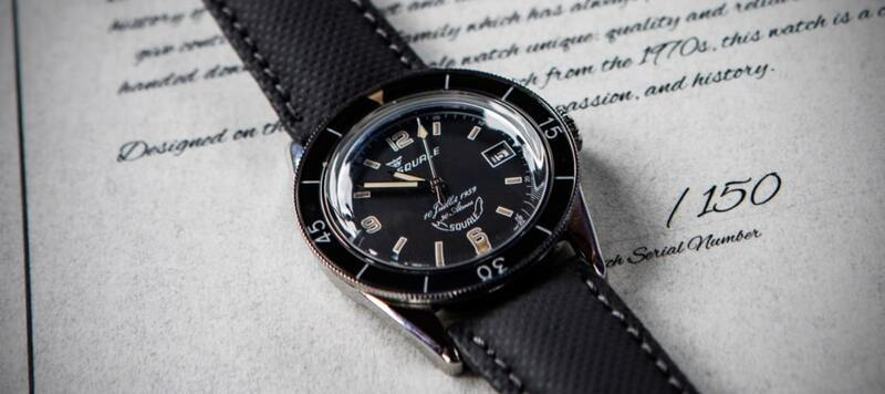 Introducing the 60th Anniversary Edition Squale 30 Atmos