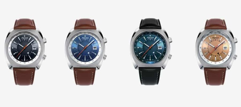 """Introducing the Alpina Startimer Pilot Heritage Collection, A Value-Packed, """"True-GMT"""" Traveler's Watch"""