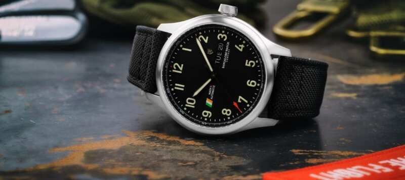 Introducing the Bangalore Watch Company MACH 1