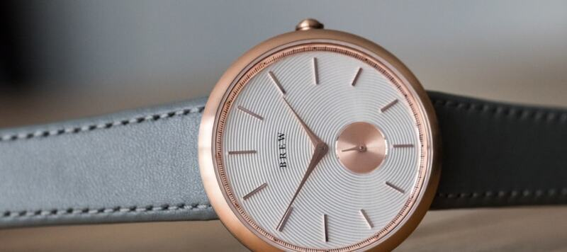 Introducing the Café Collection from BREW Watch Co.