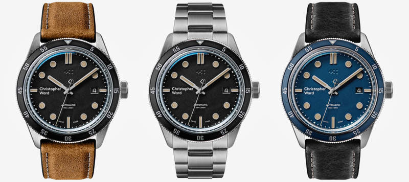 Introducing the Christopher Ward C65 Trident Automatic