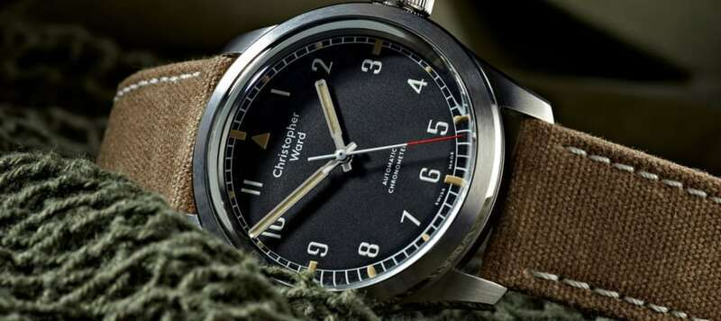 Introducing the Christopher Ward Military Collection