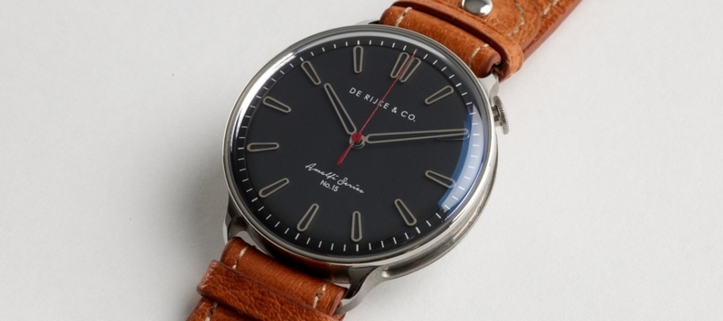 Introducing the De Rijke & Co. Amalfi Series 1S, a Watch for the Open Road