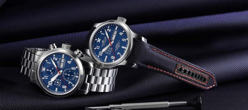 Introducing the Fortis PC-7 TEAM Aeromaster Chronograph and Day-Date