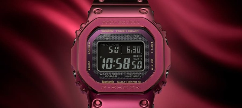 Introducing the G-Shock GMWB5000RD-4, Their Latest in Full Metal and Bright Red
