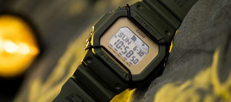 Introducing the HSC G-LIDE, a G-Shock made in partnership with Herschel Supply Company