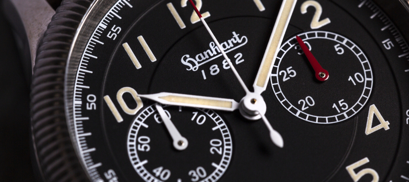 Introducing the Hanhart Pioneer Valjoux 23 Flyback Featuring NOS Movements