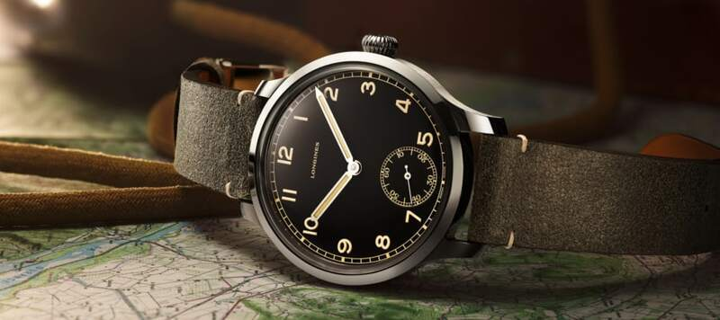 Introducing the Longines Heritage Military 1938