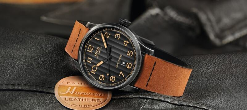 Introducing the Mido Multifort Escape Horween Special Edition
