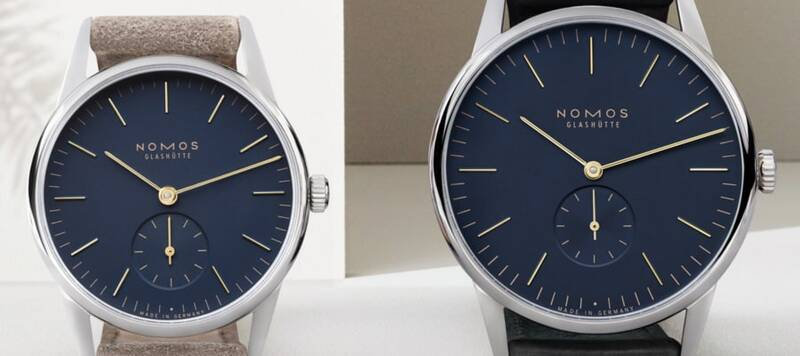 Introducing the Nomos Orion 33 and 38 in Midnight Blue