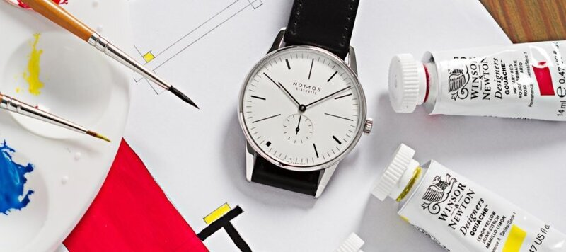 """Introducing the Nomos x Ace Jewelers """"De Stijl"""" Orion 38 Limited Edition"""