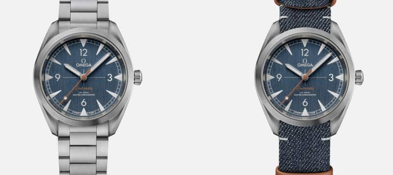 """Introducing the Omega Railmaster Co-Axial Master Chronometer """"Denim"""""""